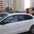 Дефлекторы окон Volkswagen Polo с 2010 по 2020, седан, к-т 4 шт., скотч 3M, AcrylAuto